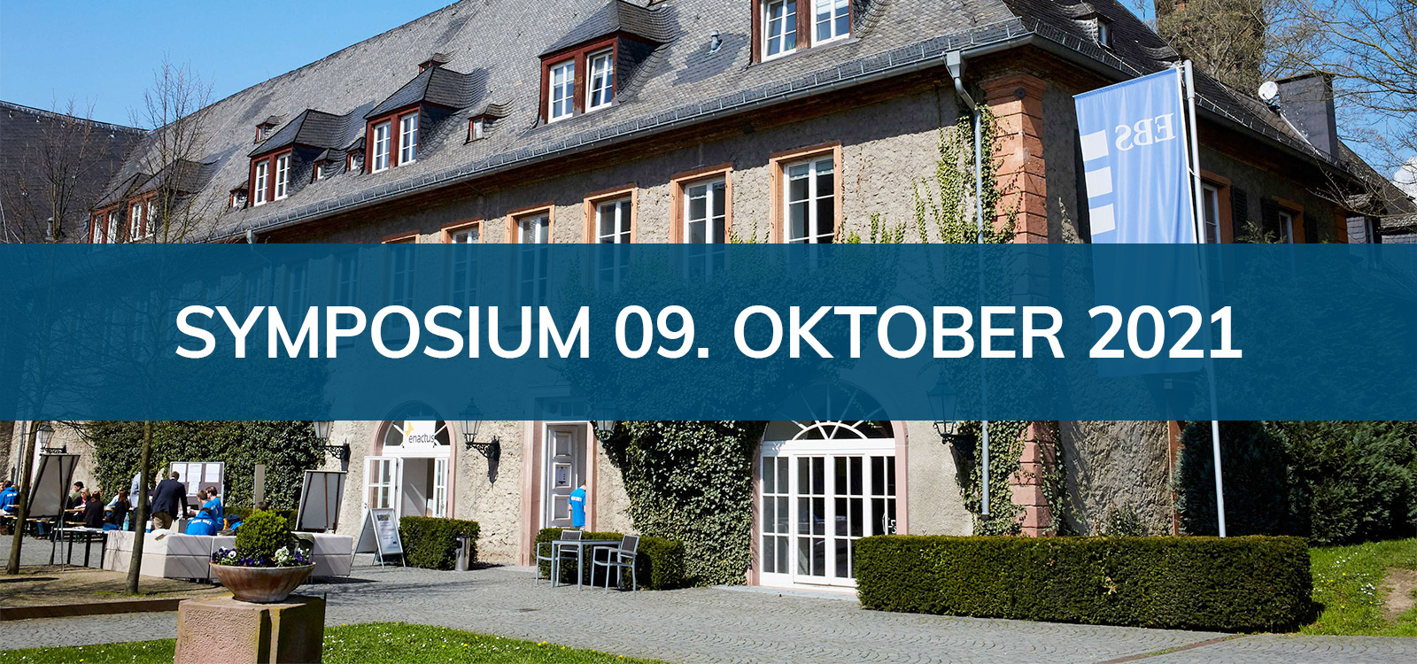 Symposium und Mitgliederversammlung am Samstag, 09. Oktober 2021